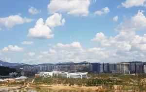 오는 10월 개장을 앞둔 서울식물원 전경