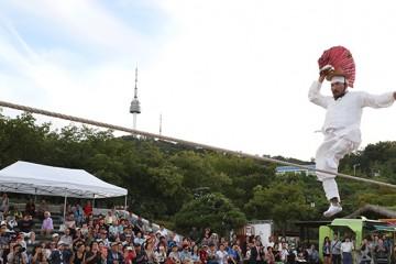얼쑤! 줄타기·솟대놀이 신명나는 한마당 '서울무형문화제'