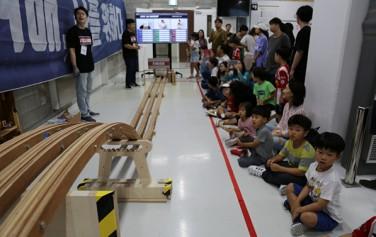지난 9월 새활용프라자에서 열린 '새활용 자동차 경주대회 RACE UP'