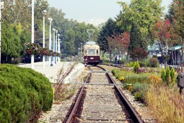 경춘선 숲길에서 만난 열차