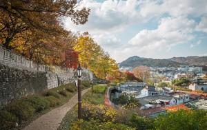 서울 성곽마을(삼선권) 전경