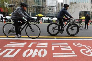 '안전하고 편리하게' 서울 자전거도로의 진화