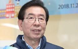 박원순 시장이 22일 '제로페이 서울' 확대 캠페인을 펼쳤다