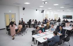 인생 전환기 50+세대의 즐거운 모임이 이루어지고 있는 50+인생학교