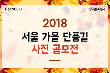 2018 서울 가을 단풍길 사진공모전