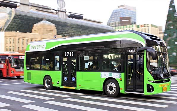 1711번 전기버스 타고 떠나는 서울 명소 여행