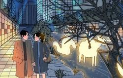 서울의 꿈, 빛으로 흐르다 2018 서울빛초롱축제 명민호 일러스트