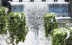강원도 인근 생을 다한 나무들을 가지고 만든 'Tree of life' 작품