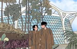 서울식물원 일러스트