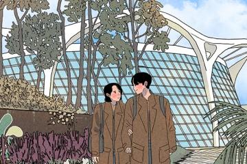 쌀쌀한 날엔 온실 추천! 여의도공원 2배 '서울식물원'