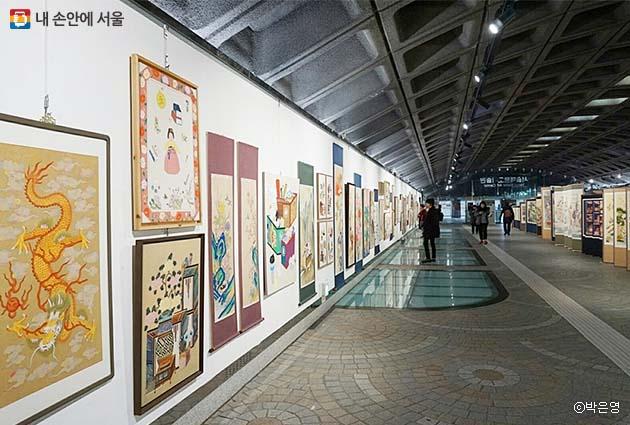 경복궁역에서 우연히 마주한 서울메트로미술관