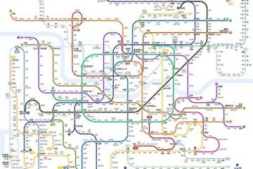 """""""한눈에 쏙!"""" 색각이상자도 보기 편한 지하철 노선도"""