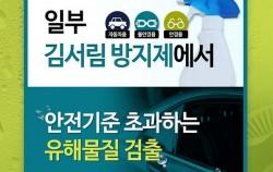 일부 김서림 방지제(자동차용, 물안경용, 안경용)에서 안전기준 초과하는 유해물질 검출
