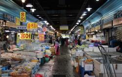 가락시장 내에 위치한 수산물 도매시장