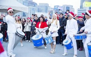 12월 22일 서울로7017에서 진행된 '산타모자 대행진', 크리스마스 분위기를 한껏 느낄 수 있는 행사였다.
