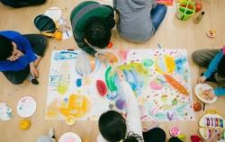 서서울예술교육센터 예술놀이LAB 활동 모습