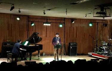 아이서울유가 뮤지션과 함께 누원고등학교를 찾아가 학생들에게 서울을 주제로 한 음악공연을 선물했다.