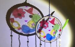 1,2월 감성예술 – 동그란 꿈 속 세상(드림캐쳐 만들기)