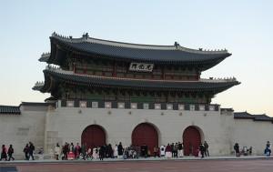 경복궁의 정문 광화문