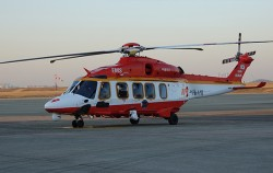 서울시에서 도입한 18인승 중대형 다목적 소방헬기(AW-189)
