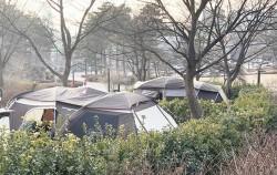 도심 속에서 캠핑 분위기 제대로 즐길 수 있는 중랑숲캠핑장
