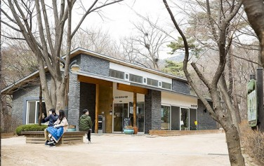삼청공원 안에 자리한 숲속 도서관, 뉴욕 타임스에 '사람 중심의 미래 혁신'의 예로 소개되었다