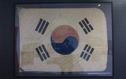 3·1만세운동 당시 숭실중학교 교정에 게양됐던 태극기