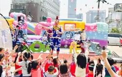 5월 5일 예정된 두둥실 꿈꾸는 버블쇼. 서울상상나라에서는 어린이날 주간 다양한 무료 체험 행사를 진행한다.