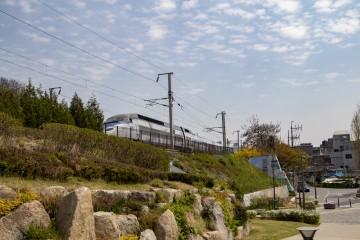 경의선 숲길의 열차