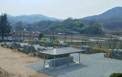 상주 캠핑장 전경