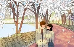 명민호가 그리는 서울이야기 (22) 서울봄꽃축제