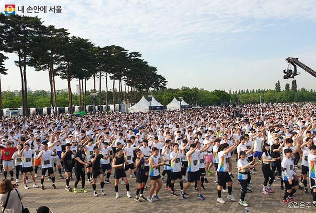 26일 상암월드컵공원에서 제4회 기브앤레이스가 개최됐다