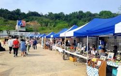 매월 둘째·넷째 토요일 오후 1시~6시, 문화비축기지에서 '모두의 시장'이 열리고 있다