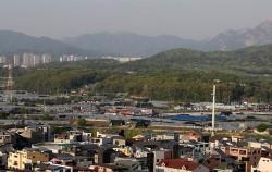 3기 신도시 신규 택지로 지정된 고양 창릉 일대 모습