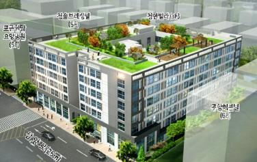 경전철 역세권으로는 처음으로 솔밭공원역 근처에 청년주택이 들어선다.