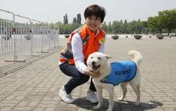 서울시동물매개활동가 사업을 운영하고 있는 위드햅 김진 대표