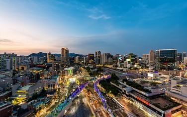 빛으로 아름다운 '서울로2017'