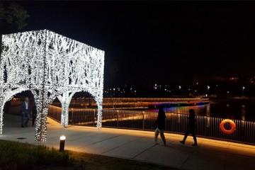 서울식물원, 낮에만 즐기란 법 있나요?