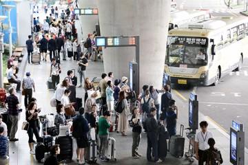 22일부터 '공항버스' 카드요금 1,000원 내린다