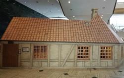 서울역사박물관 입구에 들어서면 볼 수 있는 안데르센의 오데센 생가