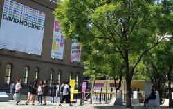 8월 4일까지 서울시립미술관 서소문 본관에서 데이비드 호크니전이 열린다