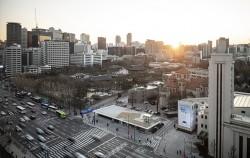서울시민건축학교가 열리는 '서울도시건축전시관' 지상 전경