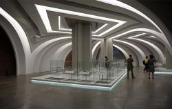 조선 후기의 역사와 서소문에 관련돤 다양한 유물을 전시한 지하 3층의 상설전시장