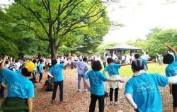 6월 20일, 서울현충원에서 '50플러스 어울림 걷기대회'가 열렸다.