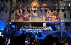 세종문화회관 산하 예술단체 300여 명이 선보이는 '극장 앞 독립군' 공연 쇼케이스 현장