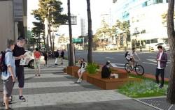 퇴계로 2가~광희동사거리 1.5㎞ 구간 도로가 보행자 중심의 녹색교통공간으로 재편된다.
