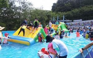'북서울꿈의숲, 경춘선숲길 잔디광장'에 물놀이장 개장