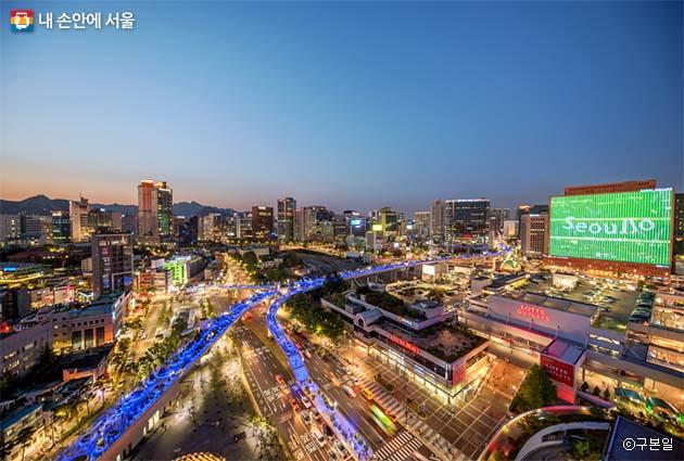 서울로7017 야경