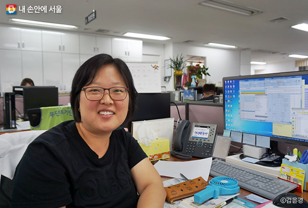 용산구 이촌1동 찾동 방문간호사 김현순 씨