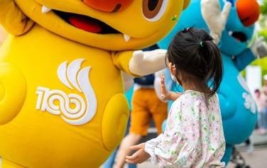 7월 19일~8월 18일까지 한 달간 여의도 한강공원에서 '본격 전국체전 붐업 프로그램 : 해띠·해온과 함께 하는 미니체전'이 열린다